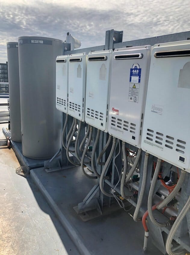 Wolli Creek Commercial Hot Water System